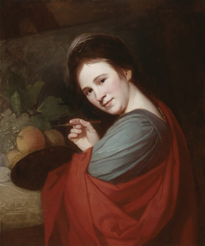 George Romney. Mary Moser
