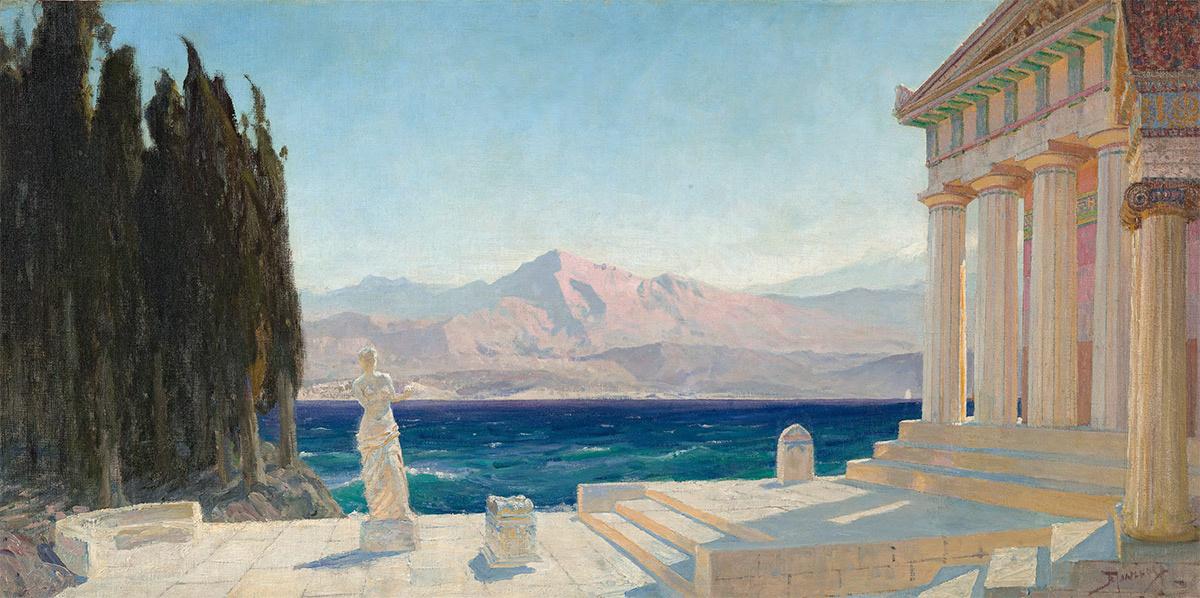 Vasily Dmitrievich Polenov. Ghosts of Hellas