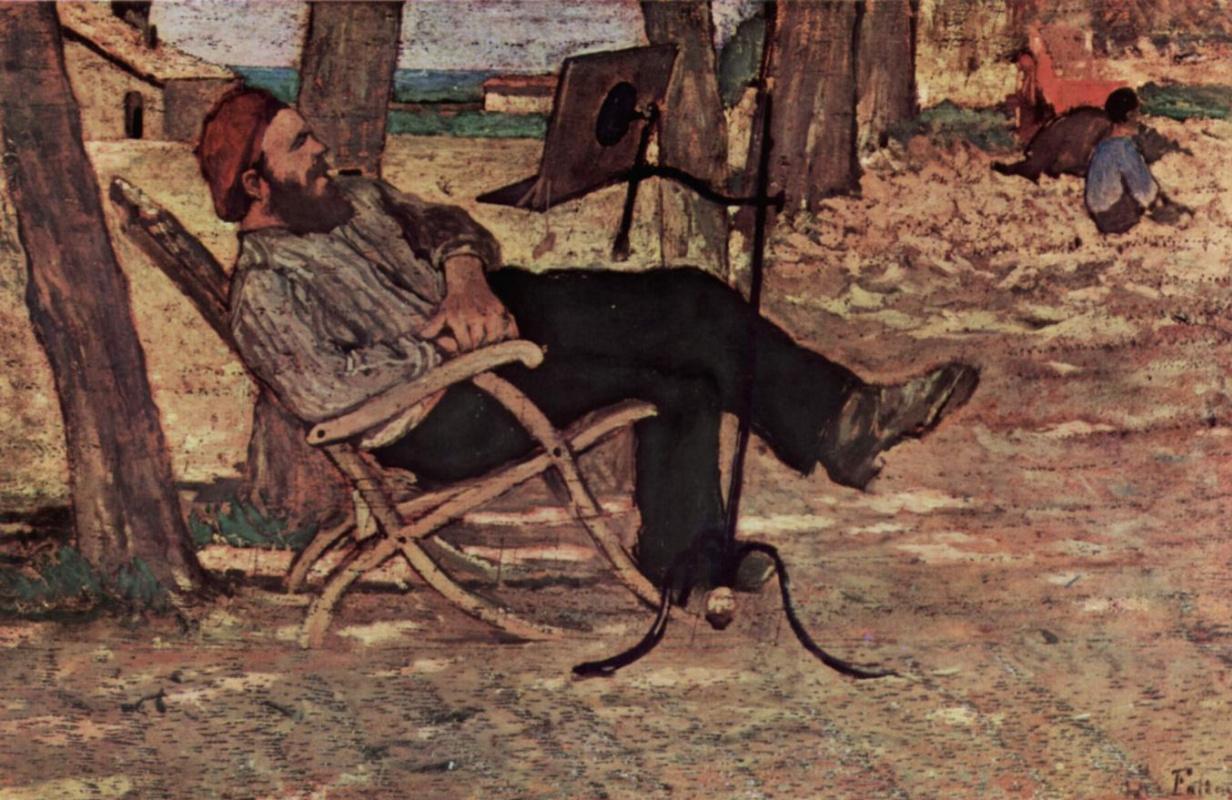 Giovanni Fattori. Diego Martelli in Castiglioncello