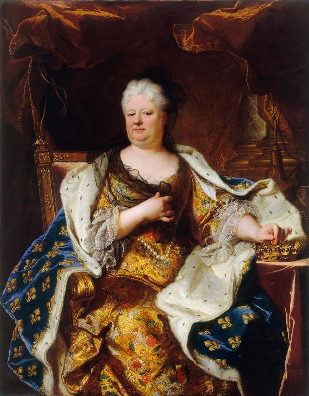 Hyacinth Rigo. Elizabeth Charlotte, Princess Palatine