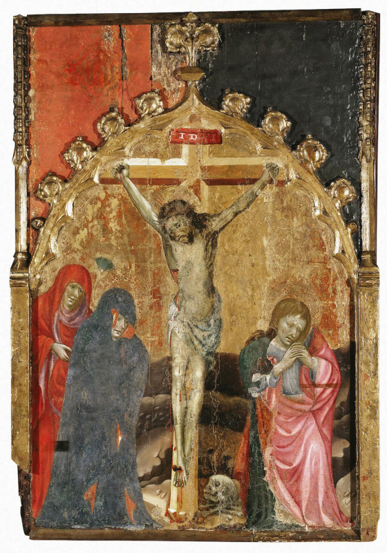 Miguel de Alcañiz. The crucifixion