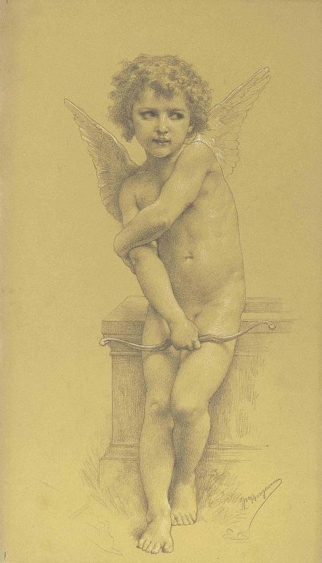 Вильям Адольф Бугро. Купидон с луком