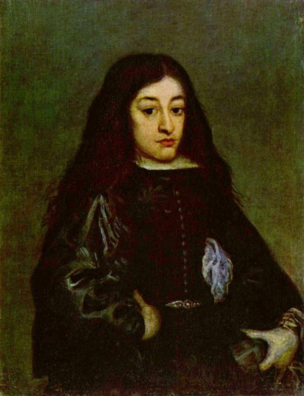 Juan Carreno de Miranda. Portrait of a young man