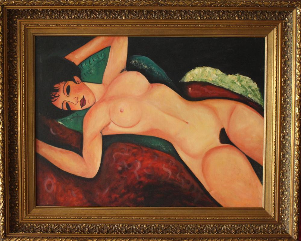Unknown artist. Nu couche (Modigliani)