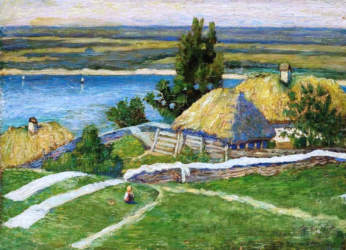 Николай Григорьевич Бурачек. Trukhanov Island
