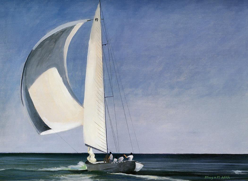 Даниэль Фрей. В океане