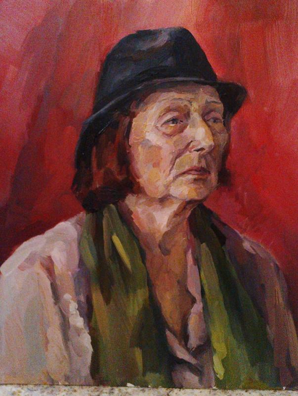 Selena Zhigulskaya. Akadem. portrait