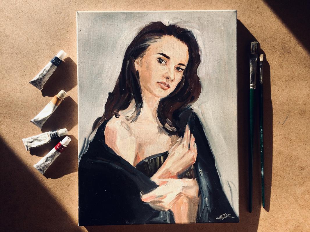 Nina Lavrentievna Chebotaeva. Portrait, Inna