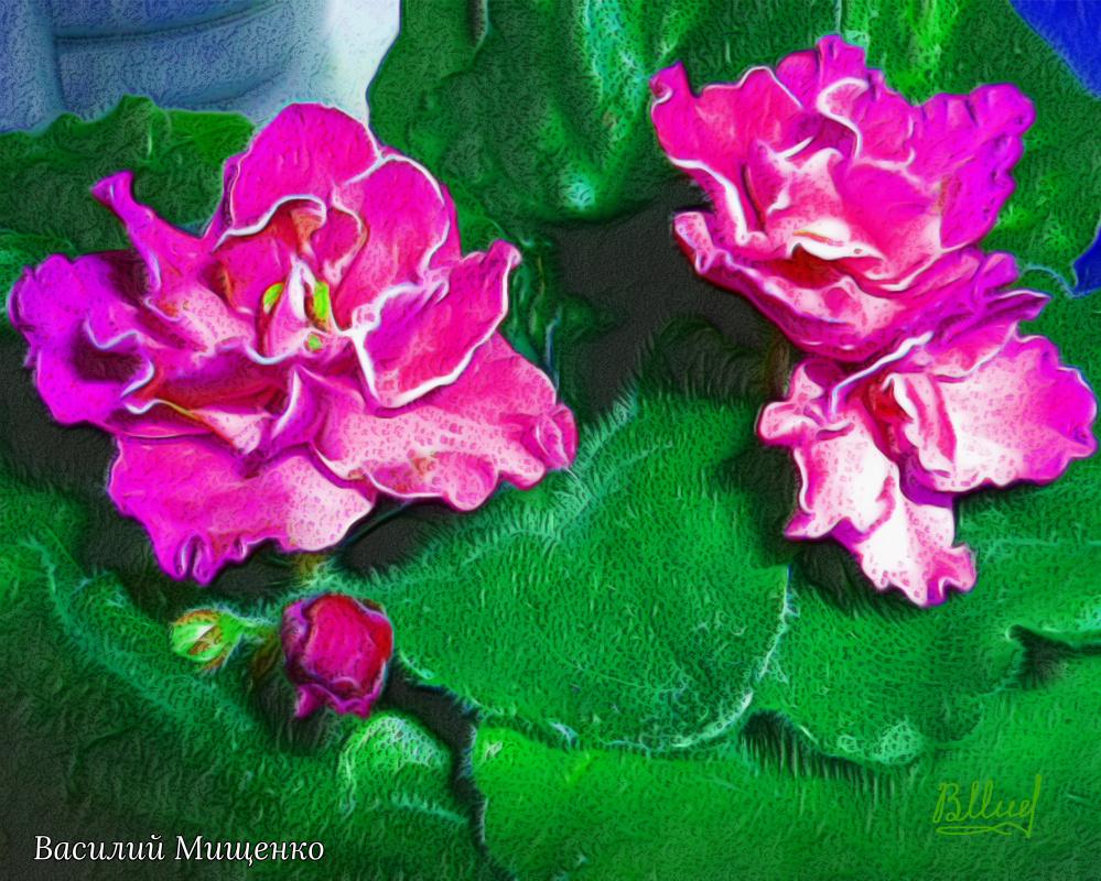 Vasiliy Mishchenko. Flowers 0122