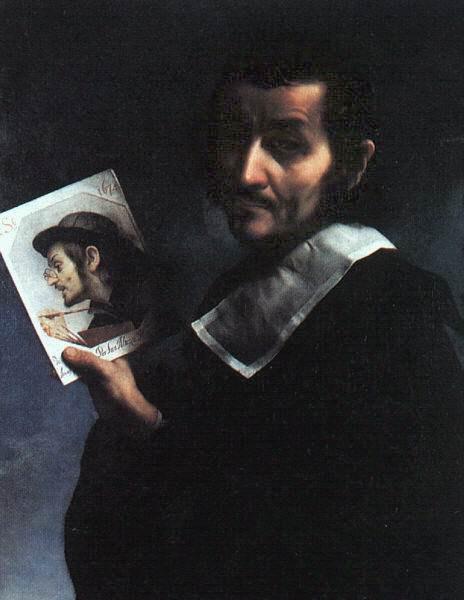 Карло Дольчи. Двойной автопортрет