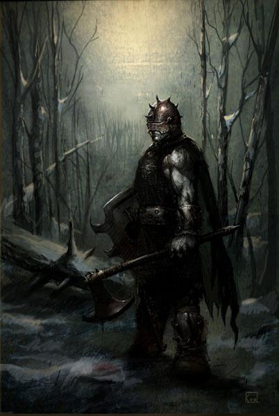 Киль. Лесной житель