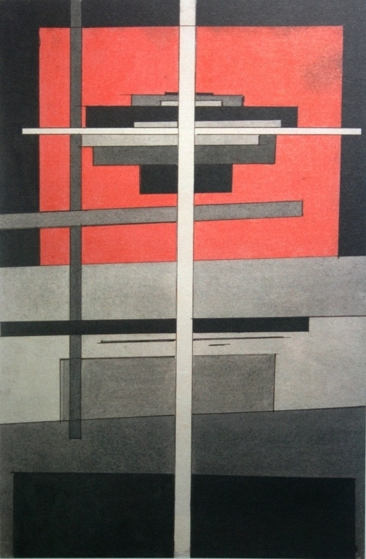 Ilya Grigorievich The chashnikov. Suprematist composition