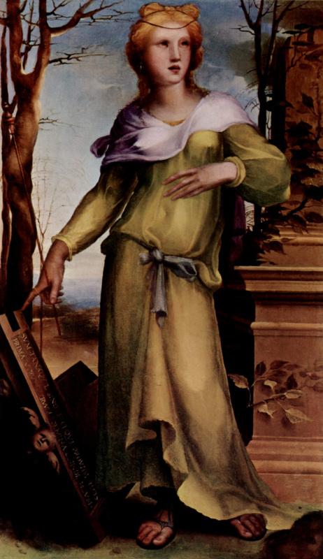 Domenico Beccafumi. Tanquilla
