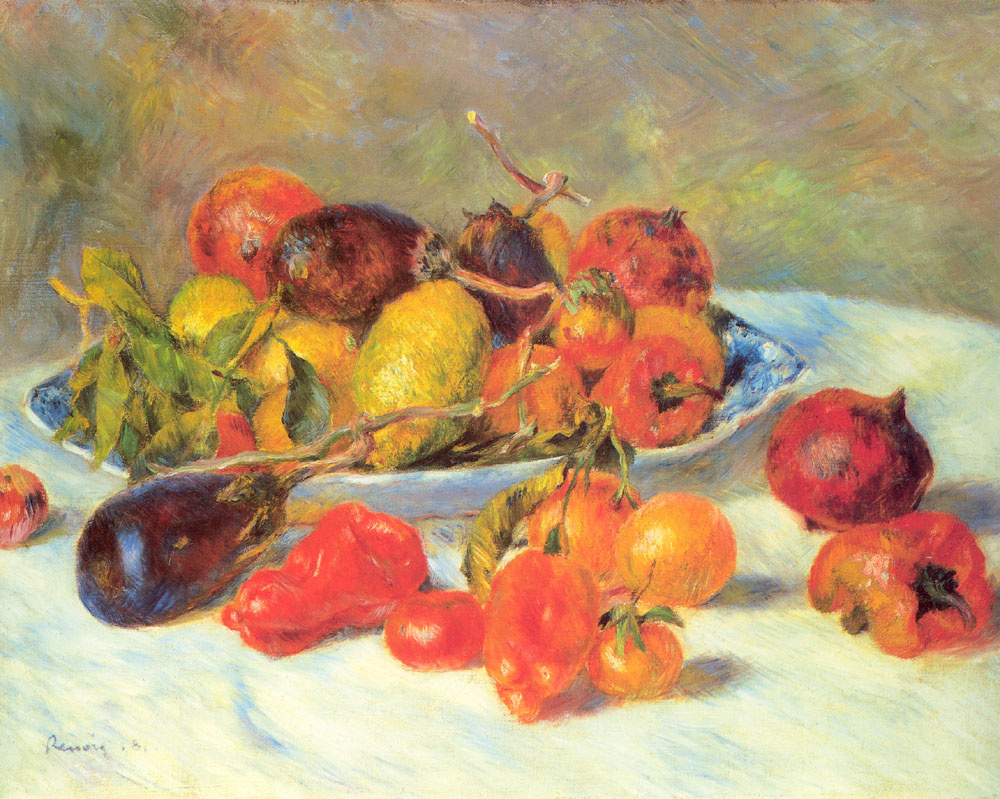 Pierre-Auguste Renoir. Fruits from the MIDI