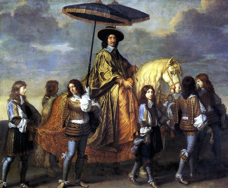 Charles Lebrun. Chancellor Séguier at the Entry of Louis XIV into Paris in 1660, 1670