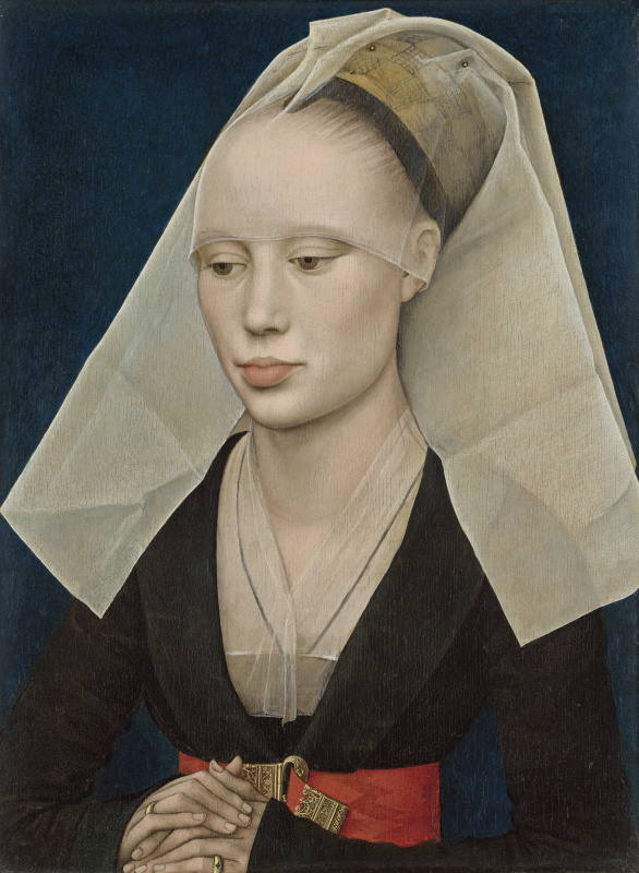 Rogier van der Weyden. Portrait of a lady