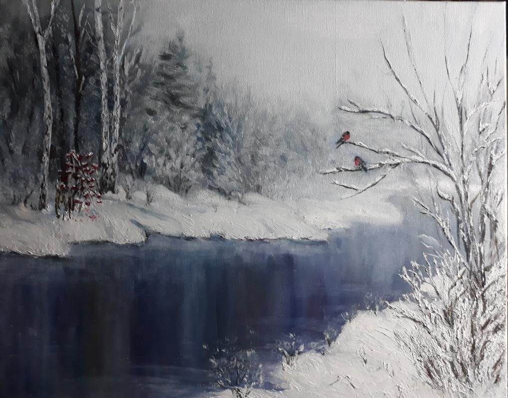 Nadezhda Nikolaevna Kravtsova. Winter forest
