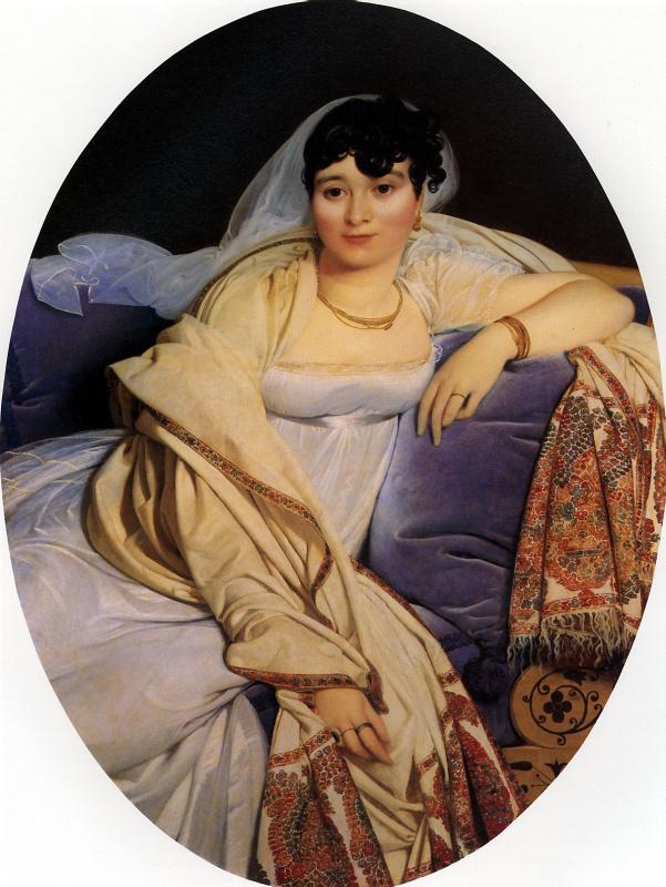 Jean Auguste Dominique Ingres. Portrait of Madame Riviere, nee Marie Francoise Biben Blo de Beauregard