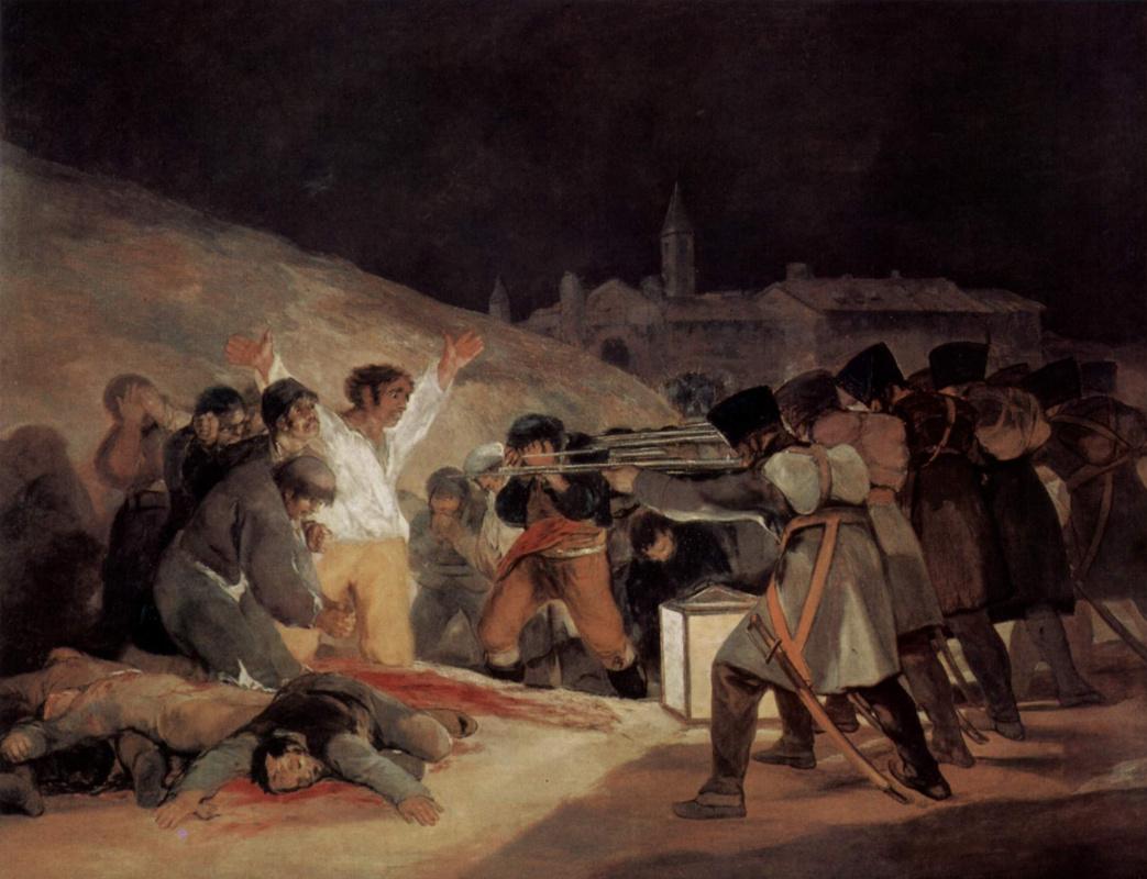 В этот день… 2 мая – 1 Наполеон, жители, Бонапарт, война, Мадрид, испанским, армия, …Французы, вмешается, дойдёт, вскоре, горожан, испанская, Мадриде, зачистку, ножницами, свирепость, расправы, возымеет, обратный