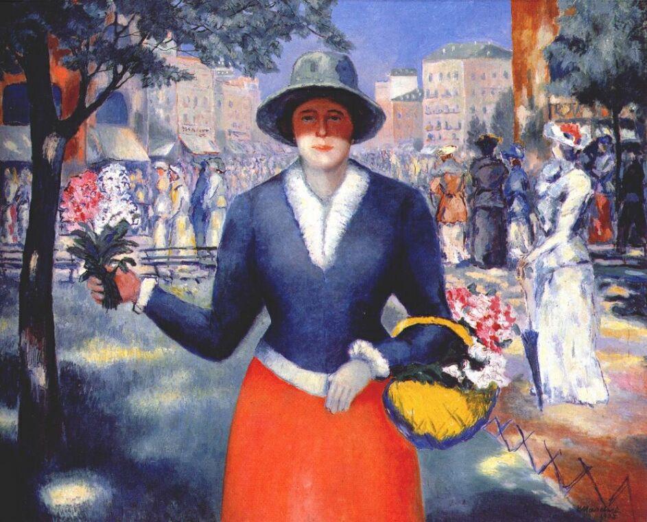 Kazimir Malevich. Flower girl
