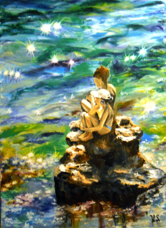 Виктория Соколик. Детство у моря