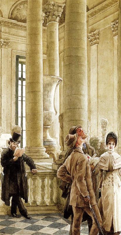Джеймс Тиссо. В Лувре