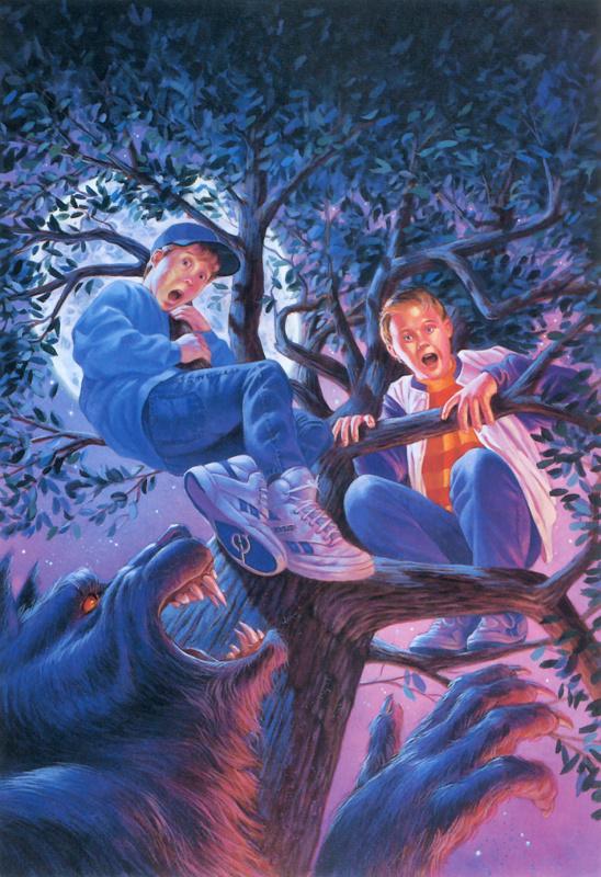 Гари Гловер. Дети на дереве