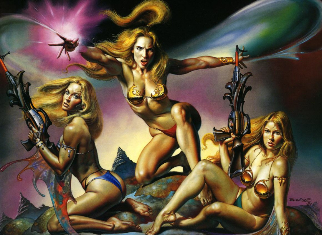 Boris Vallejo (Valeggio). Plot 39