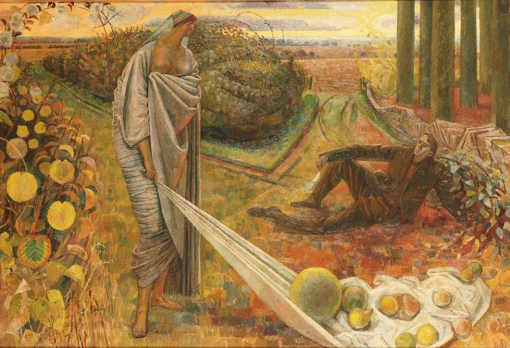 Эвелин Данбар. Осень и поэт