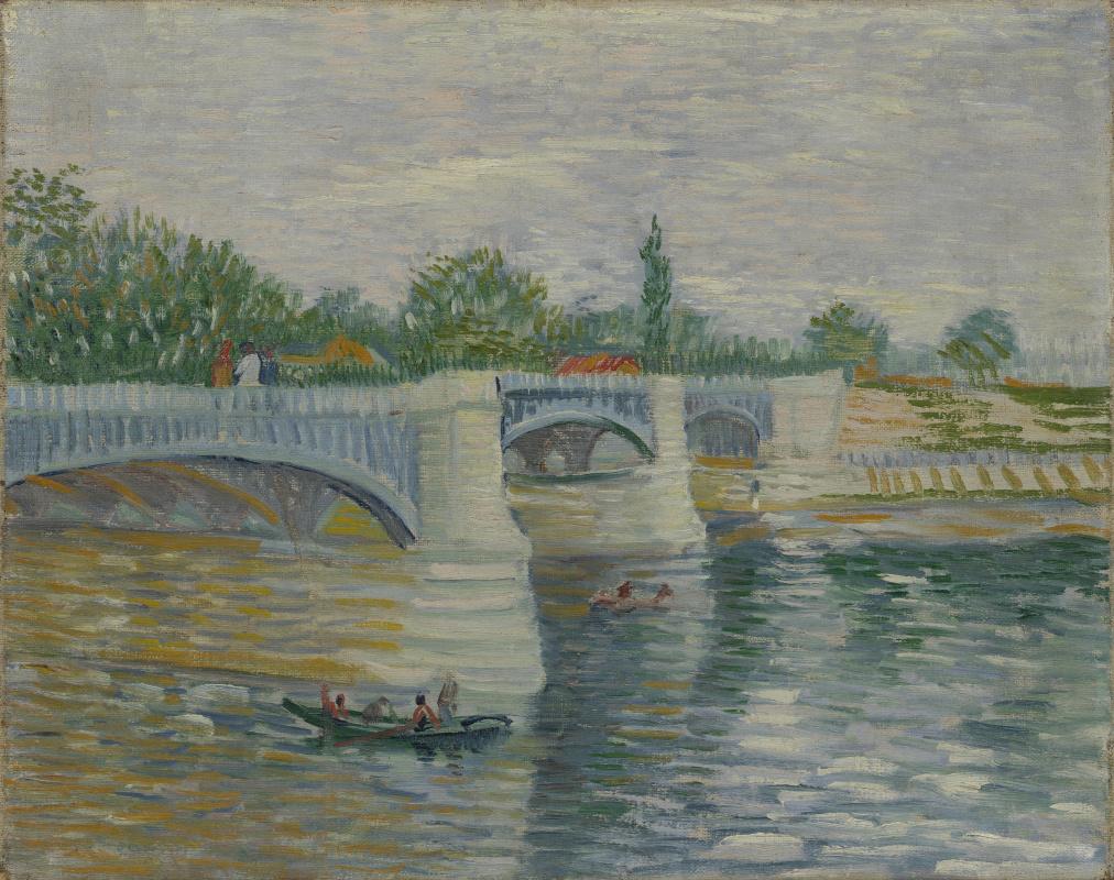 Vincent van Gogh. The bridge at Courbevoie