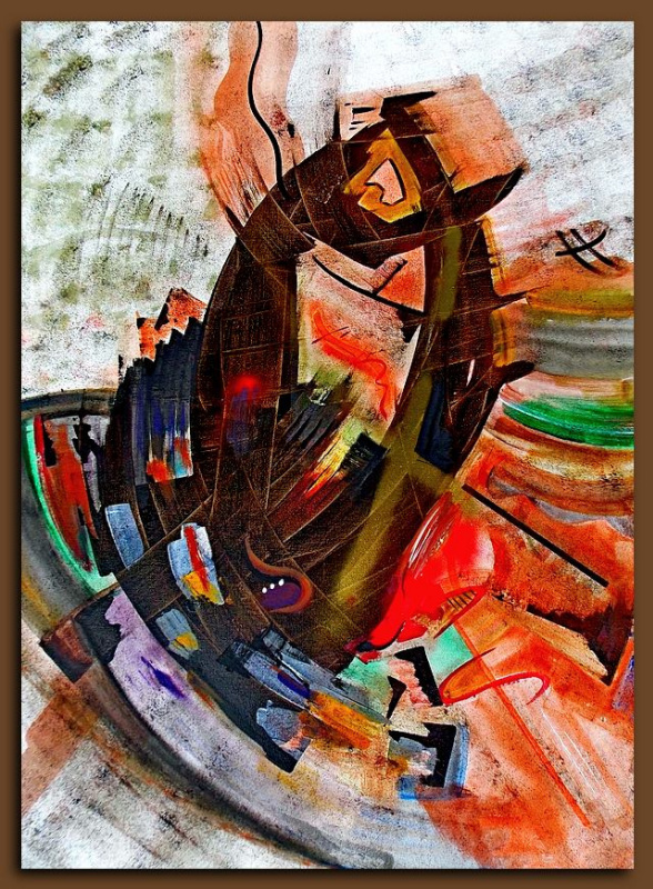 Vyacheslav Pavlovich Komisarov. Abstract art
