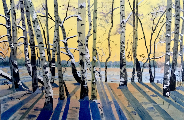 Ekaterina Bagrova. On the Sunset