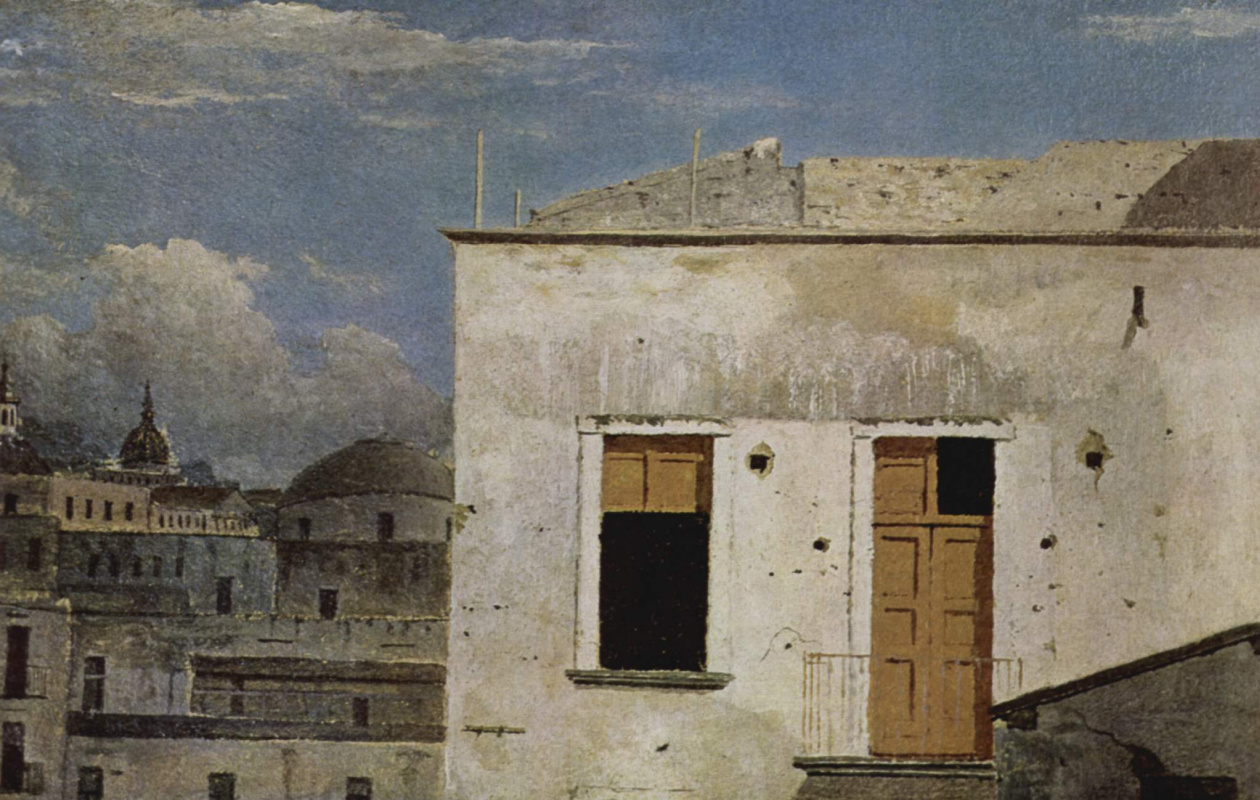 Томас Джонс. Дома в Неаполе