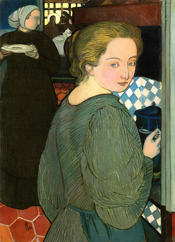 Maurice Denis. The woman at the stove