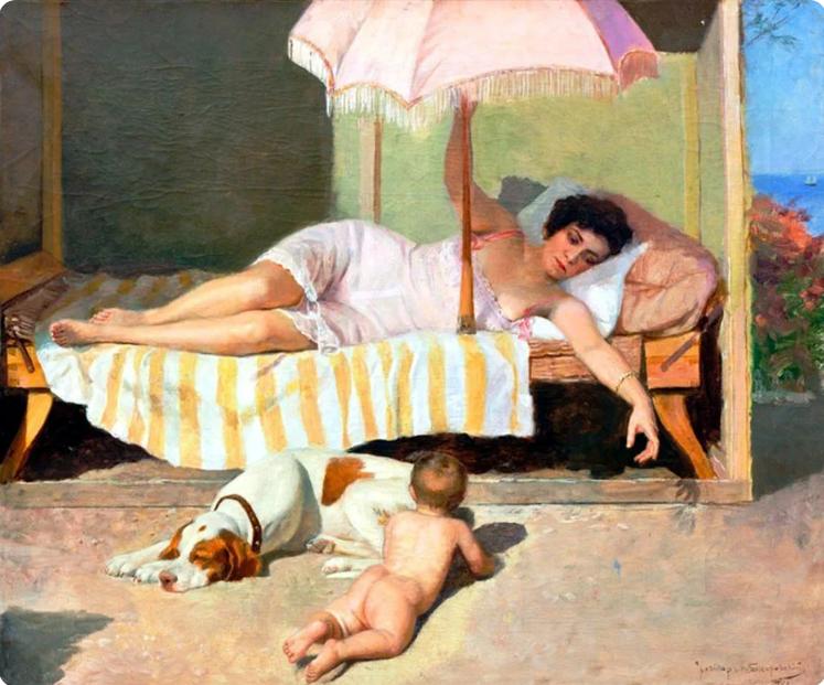 Бодаревский. Солнечная ванна