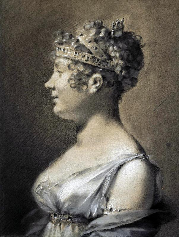 Пьер-Поль Прюдон. Портрет княгини Екатерины Талейран