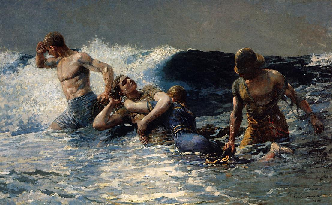 Winslow Homer. Tide