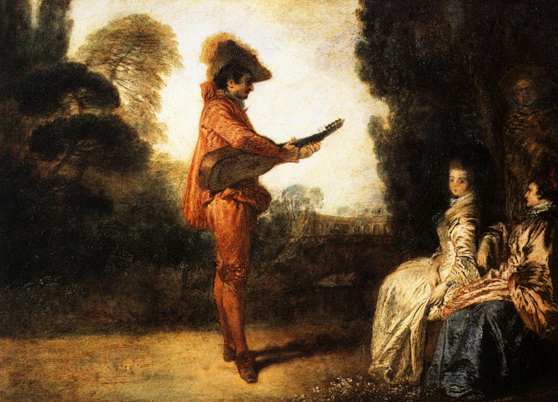 Antoine Watteau. Seducer