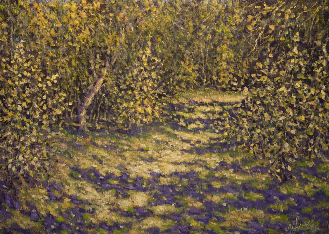 Valery Levchenko. No. 436 In the forest of the Akhtuba floodplain