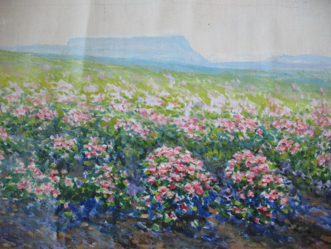 Ivan Andreevich Panteleev. Rose plantation