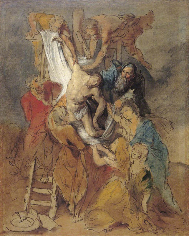 Descent from the Cross (according to Rubens)