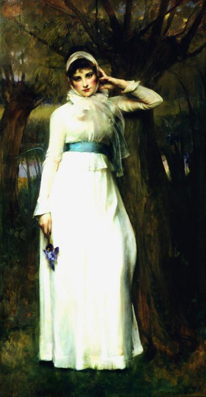Джеймс Джебуса Шеннон. Девушка в белом платье