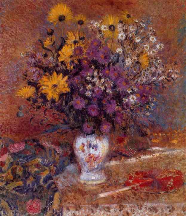 Жорж Леммен. Натюрморт с белой вазой