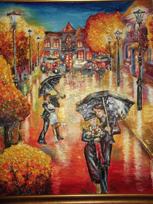 Аурика Кметюк. Дождь