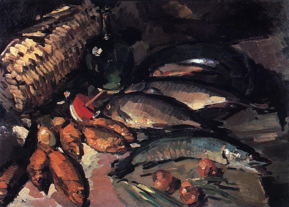 Константин Алексеевич Коровин. Рыбы