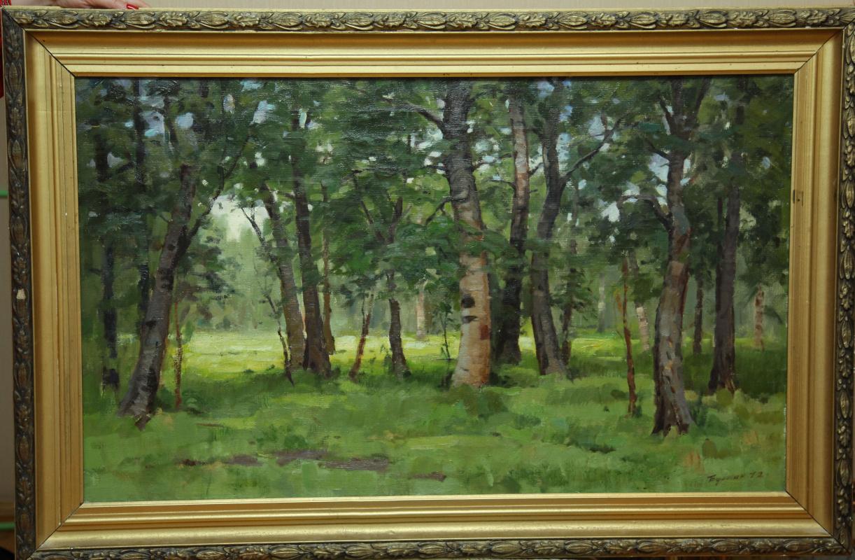 Boris Alexandrovich Bulkin. Birch grove