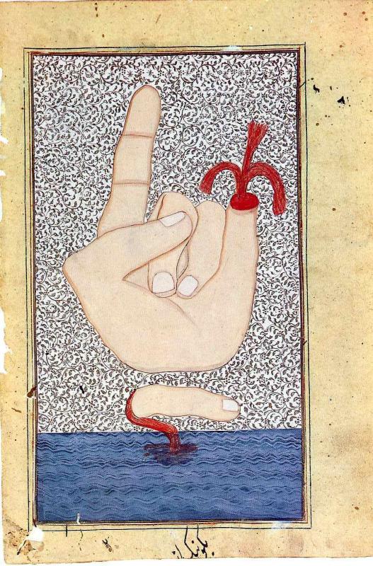 Франческо Клементе. Сюжет 151