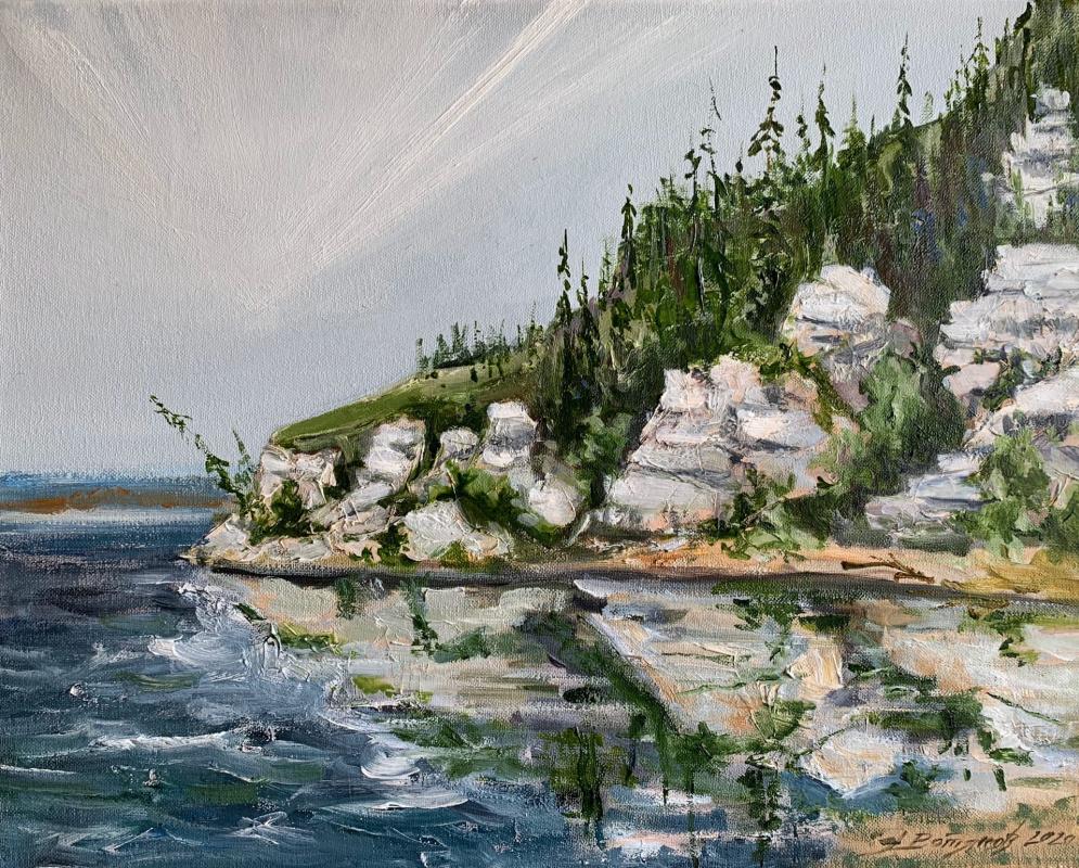Edward Rudolfovich Votyakov. Kama shores. (From the series My Ural).