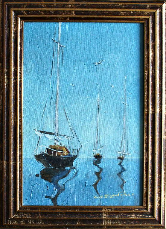 Andrey Drobitko (Adno). Sailboats