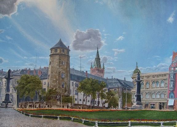 Evgeny Vladimirovich Terentyev. Koenigsberg. Munz platz square